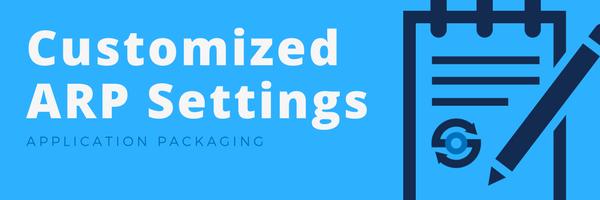 Customized ARP Settings