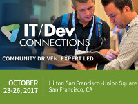IT/Dev Connections 2017